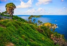 остров phuket hdr плащи-накидк обрабатывал вертикаль Таиланда съемки promthep Стоковая Фотография RF