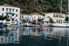 Остров Poros, Греции Стоковая Фотография RF