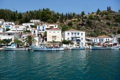 Остров Poros Стоковое Изображение