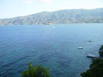 Остров Poros Стоковые Изображения RF