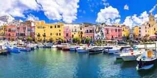 Остров Procida, Италия Стоковая Фотография RF