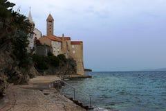 Остров Rab в Хорватии стоковые изображения