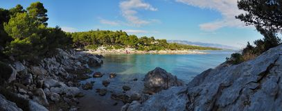 Остров Rab, Средиземного моря, Хорватии Стоковая Фотография RF