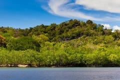 Остров Ravee, Koh Ravee, провинция Satun Таиланд Стоковые Изображения RF