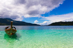 Остров Ravee, Koh Ravee, провинция Satun Таиланд Стоковые Фотографии RF