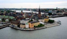 Остров Riddarholmen, Стокгольм, Швеция Стоковая Фотография