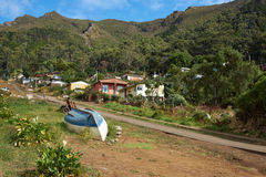 остров robinson crusoe Стоковые Изображения