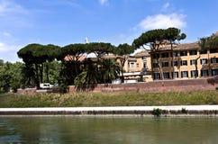 остров rome tiber Стоковые Фото