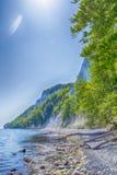Остров Ruegen, побережье мела, Германия Стоковые Изображения