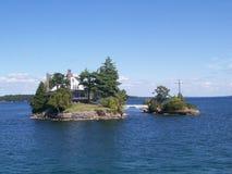 остров s Канады Стоковые Изображения RF