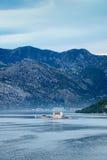 Остров ` s St. George, Kotor, Черногория Стоковые Фотографии RF
