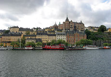 остров s stockholm Швеция dermalm Стоковые Фото