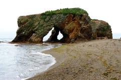 остров sakhalin плащи-накидк velikan Стоковое фото RF