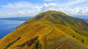 Остров Samosir холма Holbung стоковые фотографии rf