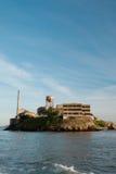 остров san francisco alcatraz Стоковые Изображения RF