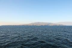 остров santa cruz стоковая фотография
