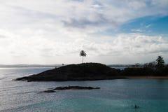 Остров Santo Aleixo - Pernambuco, Бразилия Стоковые Изображения RF