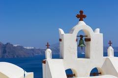 Остров Santorini, Греция Стоковое фото RF