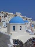 Остров Santorinis Стоковые Фотографии RF