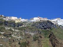Остров Santorinis Стоковые Фото