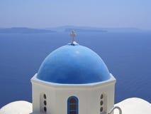 Остров Santorinis Стоковые Изображения RF