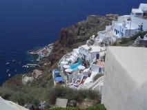 Остров Santorinis Стоковая Фотография RF