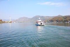 Остров seom Nami в Корее Стоковое Изображение