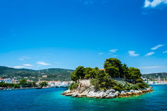 Остров Skiathos, Греция Стоковая Фотография RF