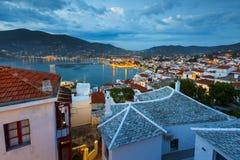 Остров Skopelos стоковые изображения