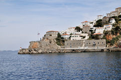 Остров Spetses, Греция стоковое изображение rf