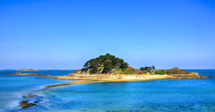 Остров Sterec - Бретань, Франция Стоковое Изображение