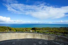 Остров Stewart смотря от запаса Motupohue сценарного Стоковая Фотография RF