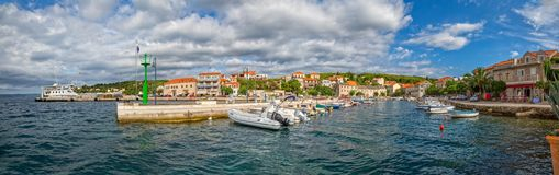 Остров Sumartin Brac Стоковое фото RF