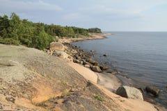 Остров Suuri-Pisi в Балтийском море Стоковые Изображения