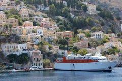 Остров Symi, Греция Стоковое Фото