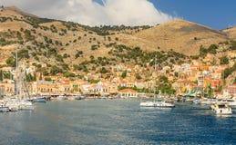 Остров Symi Греция Стоковое фото RF