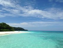 Остров Tachai Стоковые Изображения RF