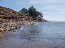 Остров Taquile, зона Puno, Перу Стоковые Изображения