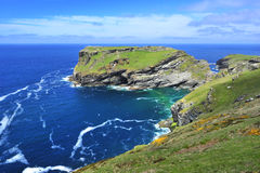 Остров Tintagel Стоковая Фотография