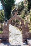 Остров Titicaca Taquile на Puno Перу Стоковое Изображение