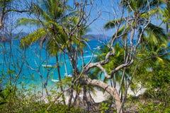Остров Tortuga, Коста-Рика Стоковые Изображения