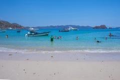 Остров Tortuga, Коста-Рика Стоковое фото RF