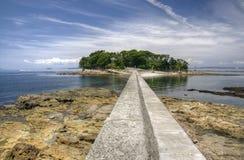 Остров Tsutsujima, Япония стоковая фотография rf