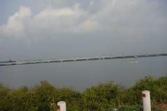 ОСТРОВ VALLARPADAM, КЕРАЛА, ИНДИЯ стоковое изображение rf
