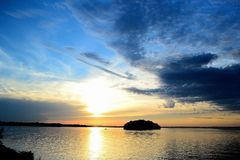 Остров Wissota Стоковое фото RF