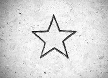 остроконечная звезда 5 Стоковая Фотография RF