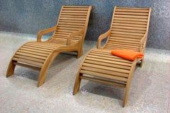 острословие sunbeds 2 пригодности Стоковые Фотографии RF