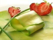 острословия клубник авокадоа Стоковые Изображения RF