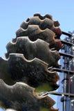 Острые бороны металла стоковые фото