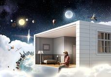 Осуществите ваши мечты дизайна Мультимедиа Стоковые Изображения